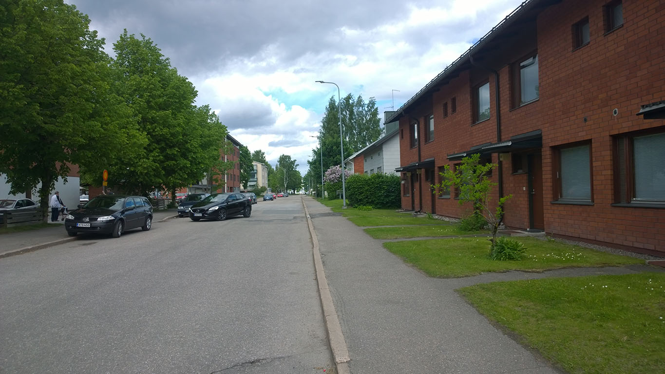 Bicycle Touring in Finland: Lappeenranta