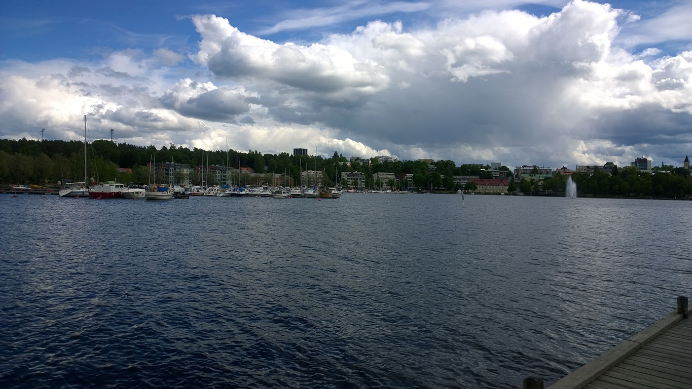 Bicycle Touring in Finland: Lappeenranta Lakes