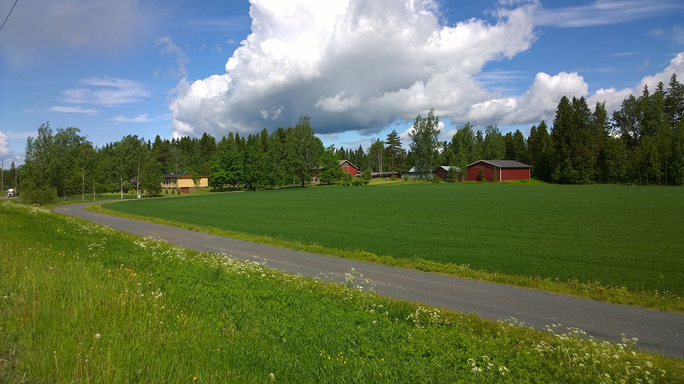 Bicycle Touring: Cycling in Finland