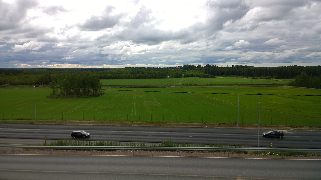 Cycling in Finland: Road 6