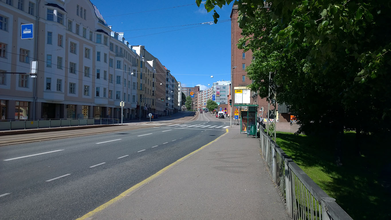 Cycling in Finland: Empty Streets
