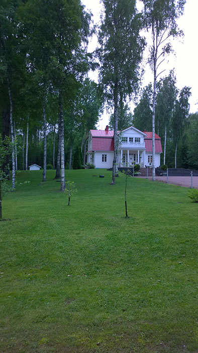 Cycling in Finland: Finnish House