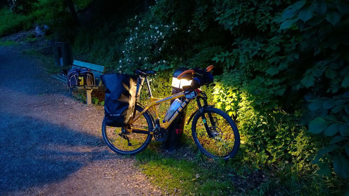 Cycling in Finland: Cooking Sausages in Turku